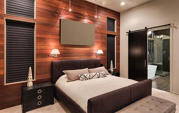 le mur d coratif osez le couvre plancher le bois ou le. Black Bedroom Furniture Sets. Home Design Ideas