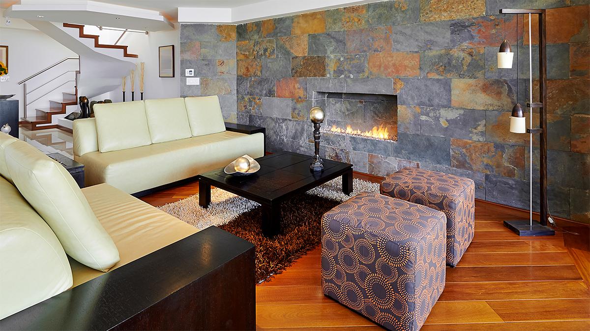 Recouvrir Du Lambris Bois le mur décoratif : osez le couvre-plancher, le bois ou le