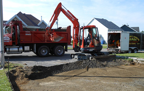 Petite excavation Ste-Foy - Sillery