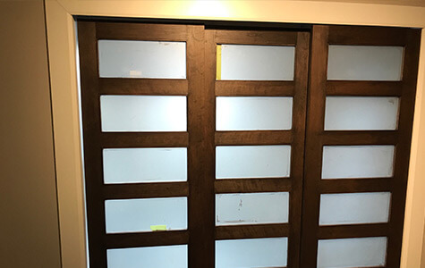 Restauration portes meubles Chomeday Laval