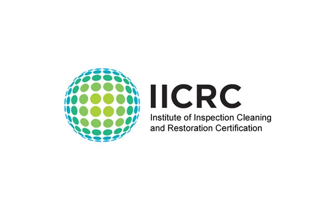 Logo IICRC Institute of Inspection Cleaning and Restoration Certification