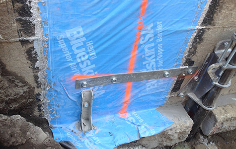 r paration de fissures de fondations de b ton drummondville excavation claude forest. Black Bedroom Furniture Sets. Home Design Ideas