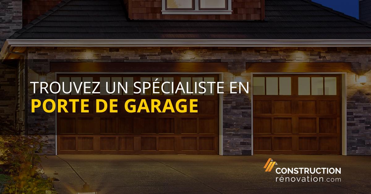 installation de porte de garage. Black Bedroom Furniture Sets. Home Design Ideas